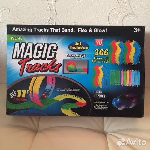 84942303606  Конструктор Magic Tracks 366 деталей