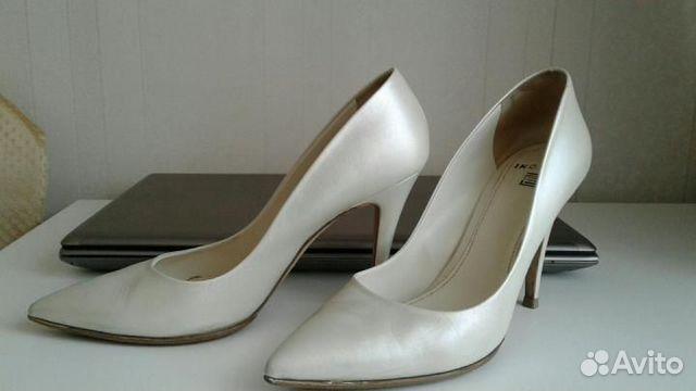 Кожаные туфли р. 41