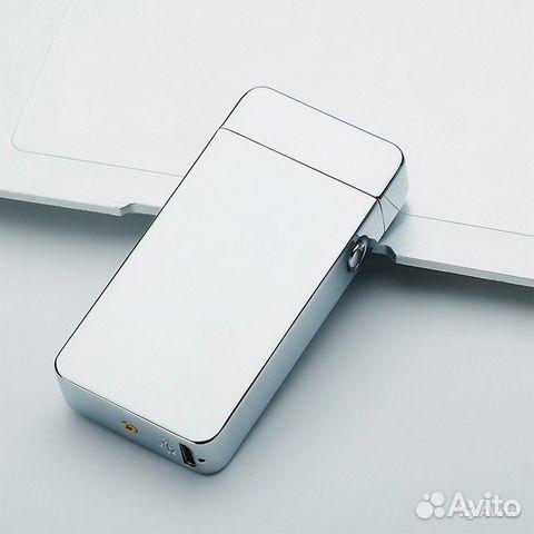 84942303606  Зажигалка USB электронная дуговая (2 дуги)