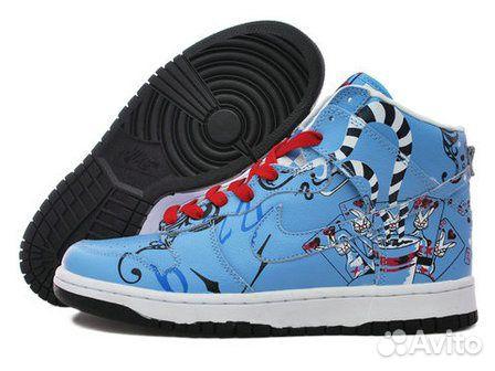 Новые Nike SB Dunks High Custom MAD