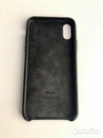 Кожаный чехол для iPhone X, Black. Оригинал 89226777659 купить 6