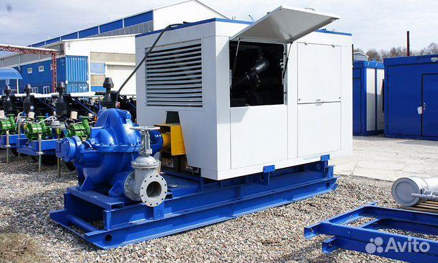 Дизельная насосная установка тмз дну-1030/87