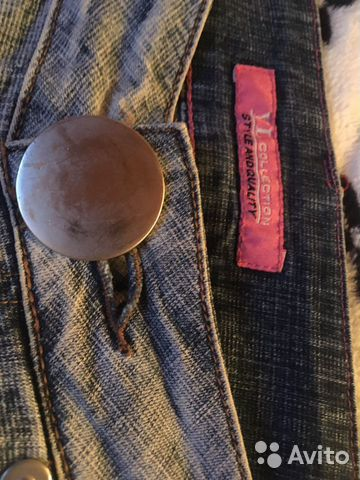 Джинсы отyl collection. L, прямые, винтажные, новы