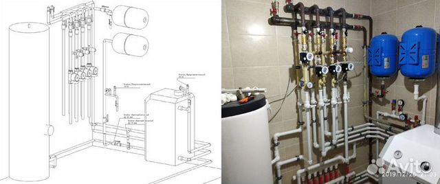 Проектирование и монтаж котельных в частных домах 89520637516 купить 1