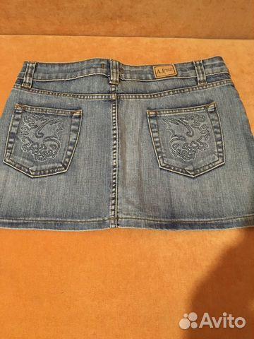 Юбка джинсовая AJ Armani  89137446690 купить 2
