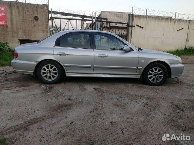 Hyundai Sonata, 2001
