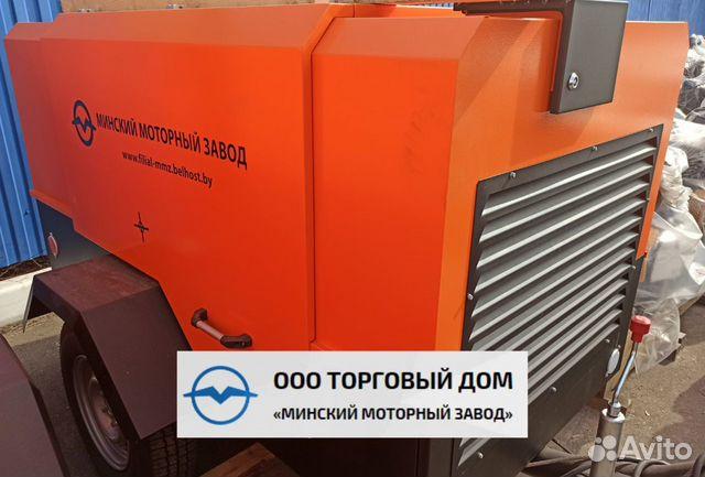 Kompressor skruv med diesel MMZ-пв6/0,7Р2 89652020201 köp 2