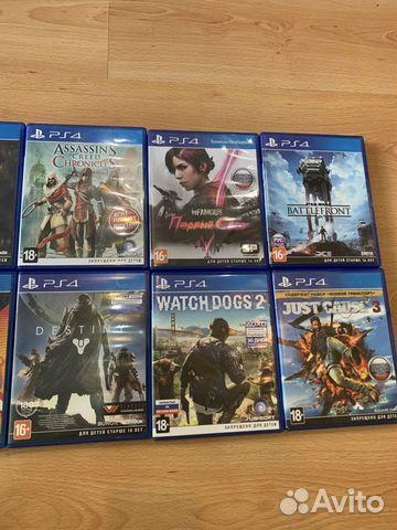 Игры на PS4  89625022730 купить 1