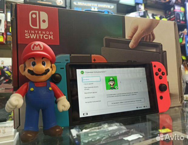 Nintendo Switch в Марио  84932262127 купить 1