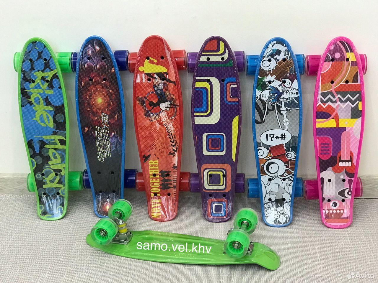 Скейтборд пенниборд новый  89242131563 купить 1