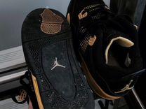 Air jordan 4 black and yellow / 38р