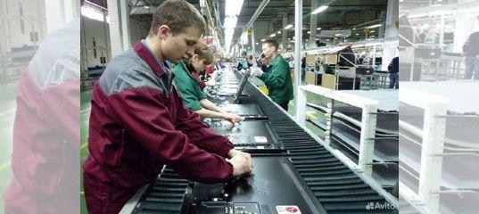 Рабочий на конвейере вакансии фольксваген транспортер т5 в рязани