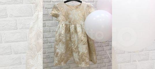 ebe9c17aa29b299 Платье красивое для девочки на 122. De Salitto купить в Иркутской области  на Avito — Объявления на сайте Авито