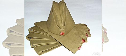 Пилотка солдатская оригами