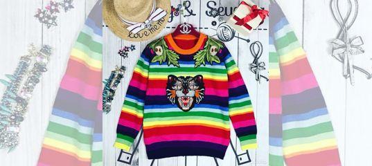 5192b2a3a4a9 Кофта Свитер Gucci купить в Нижегородской области на Avito — Объявления на  сайте Авито