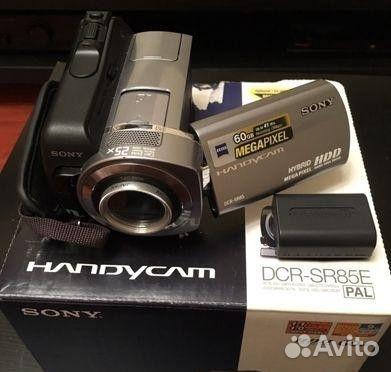 Видеокамера Sony DCR-SR85E  89220484164 купить 1