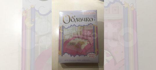 Новое постельное белье в детскую кроватку- сатин