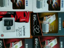 MicroSD карта SAMSUNG Kingston 32GB