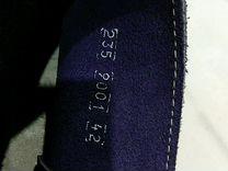 Испанские замшевые ботинки 42
