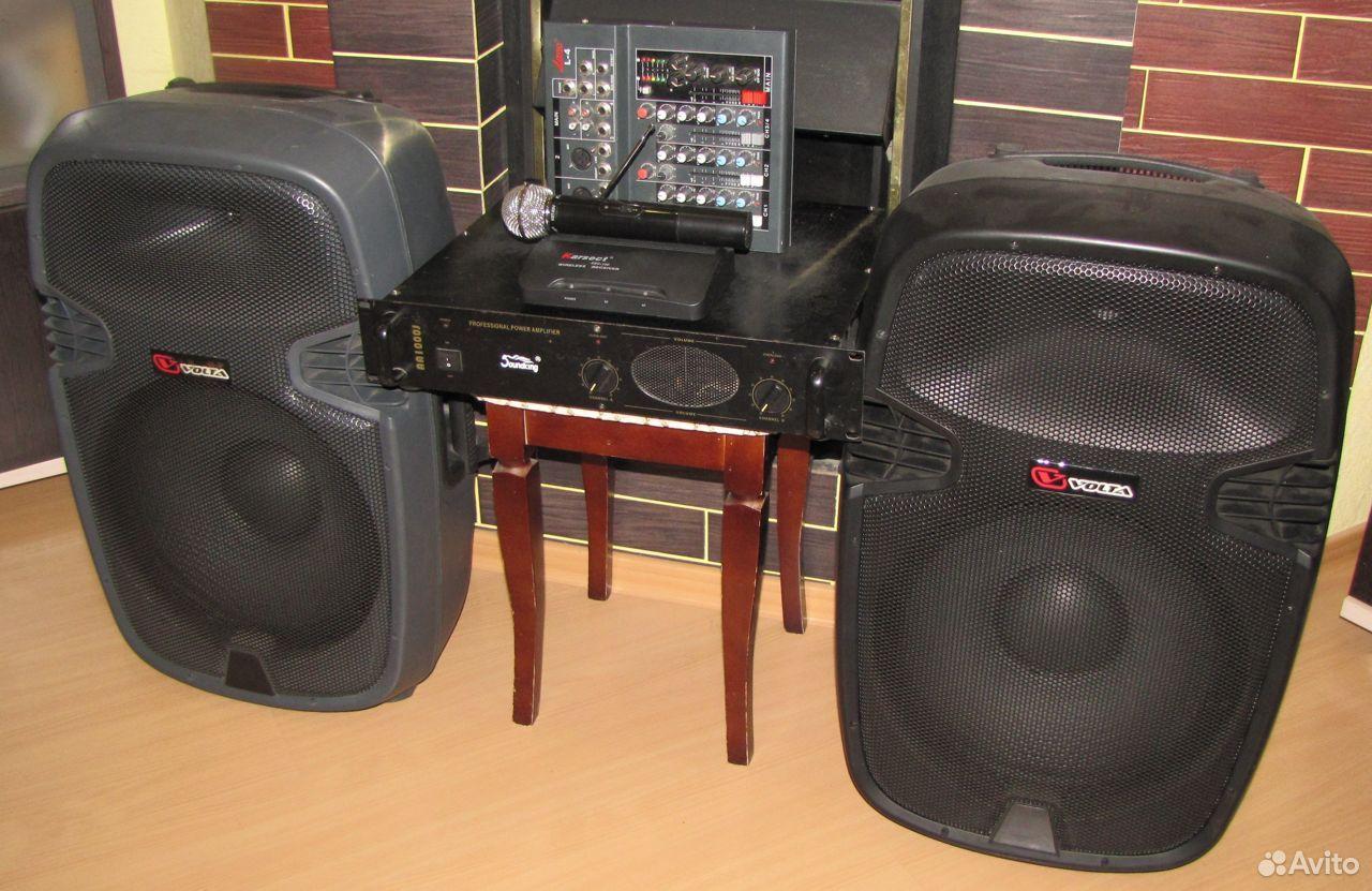 Колонки Volta 700W D15 усилитель микшер микрофон  89128899109 купить 7