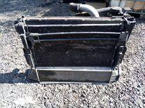 Касета радиатора на bmw e46