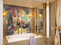 Салон дизайнерских обоев, лепнины и фресок