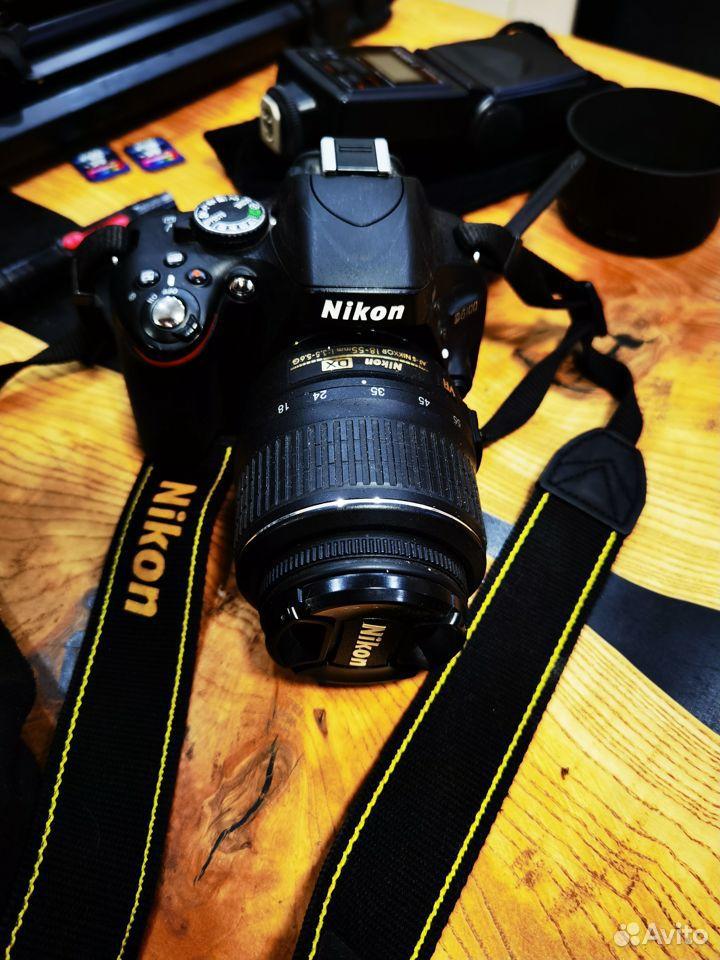 Зеркальный фотоаппарат Nikon D5100 Dauble VR Обмен  89185656006 купить 2