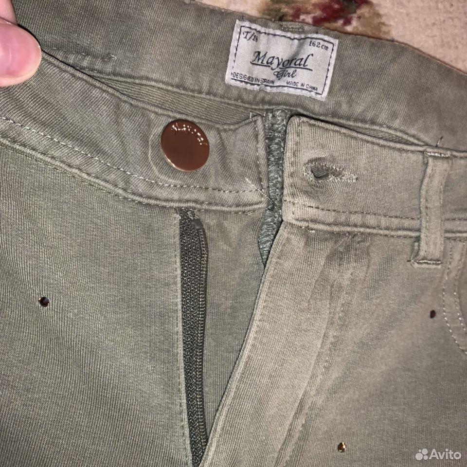 Mayoral детские трикотажные брюки со стразами (164