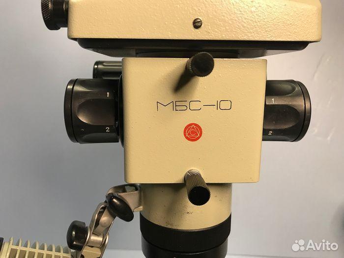 Микроскоп мбс-10 + оснастка  89610479467 купить 3