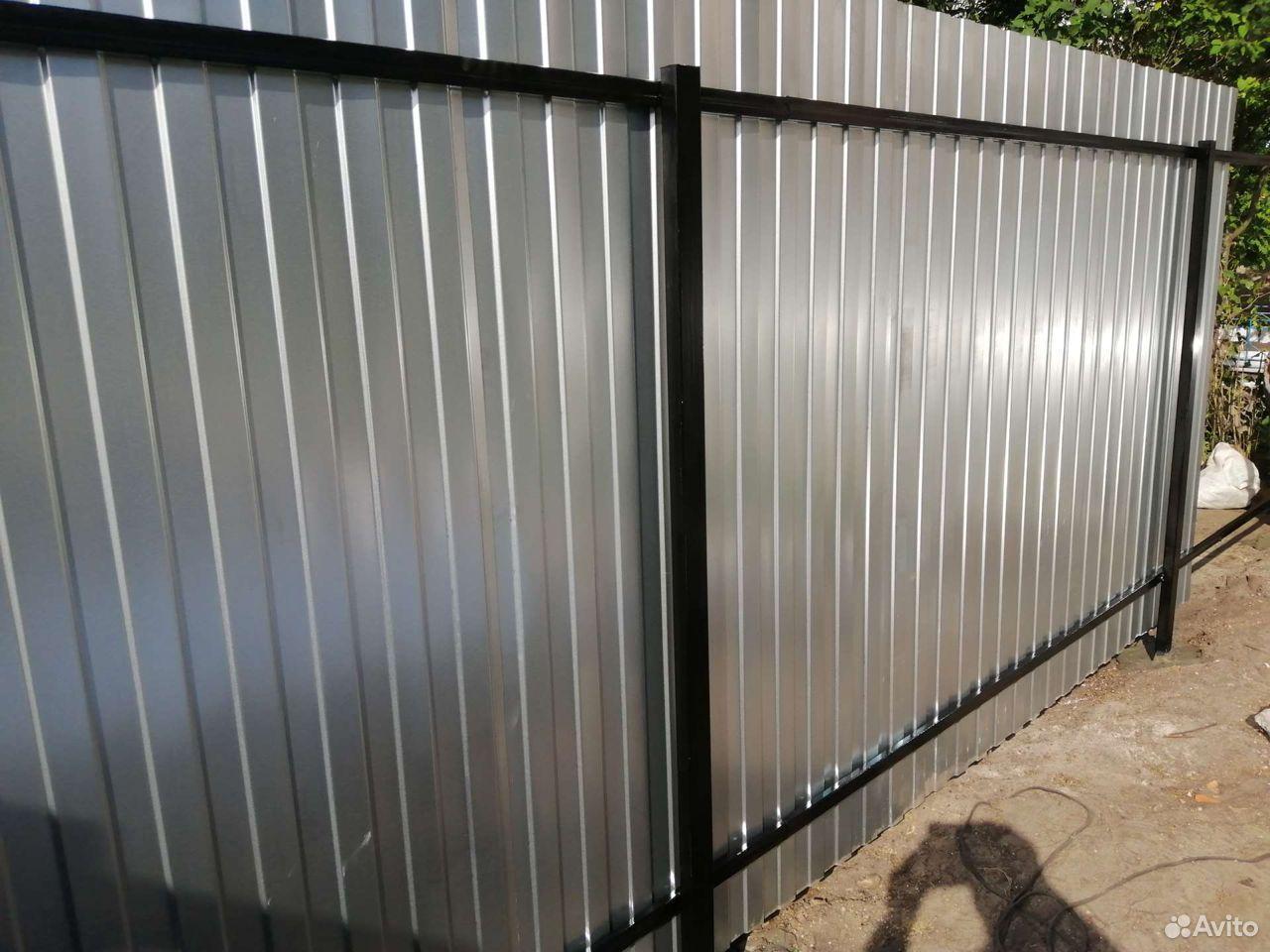 Сделаем забор, ворота из профнастила  89088373003 купить 9