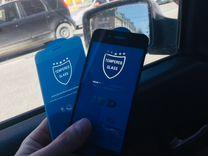 Защитное стекло на iPhone 5s/6s+/7Plus/8 и др