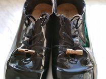 Туфли лаковые демисезонные