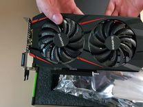 Gigabyte GeForce GTX 1050 Ti WF GV-N105TWF2OC-4GD