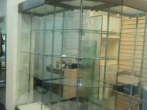 Б/У Торговое оборудование,ресепшн,стекл.витрины