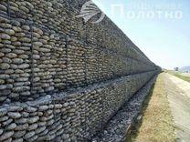 Габионы плетеные для подпорных стен