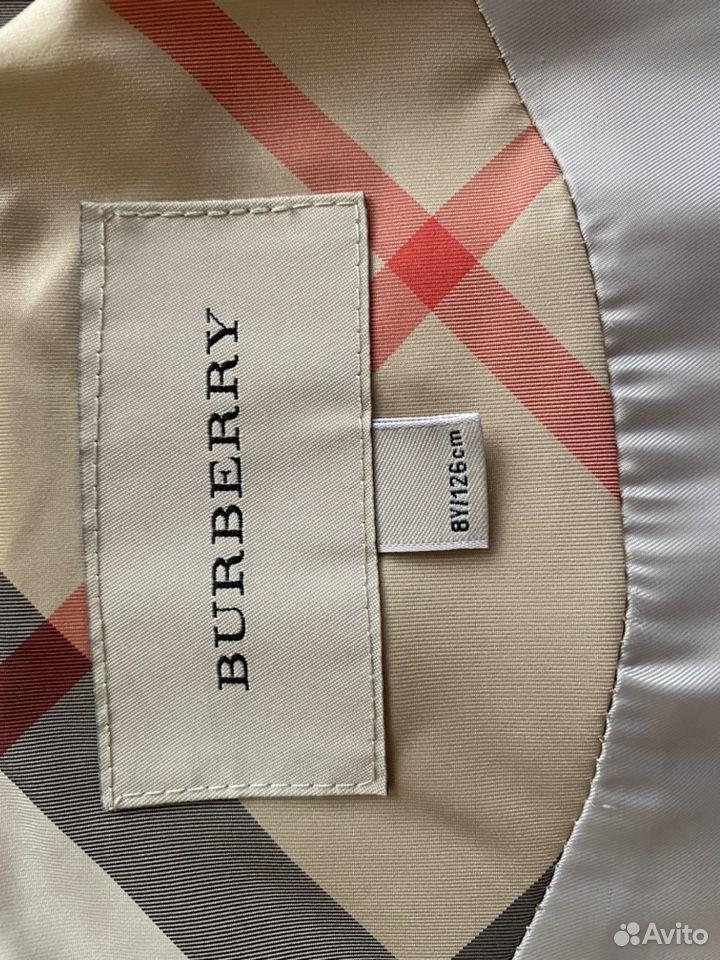 Пальто Burberry 8y/126см  89103000691 купить 4