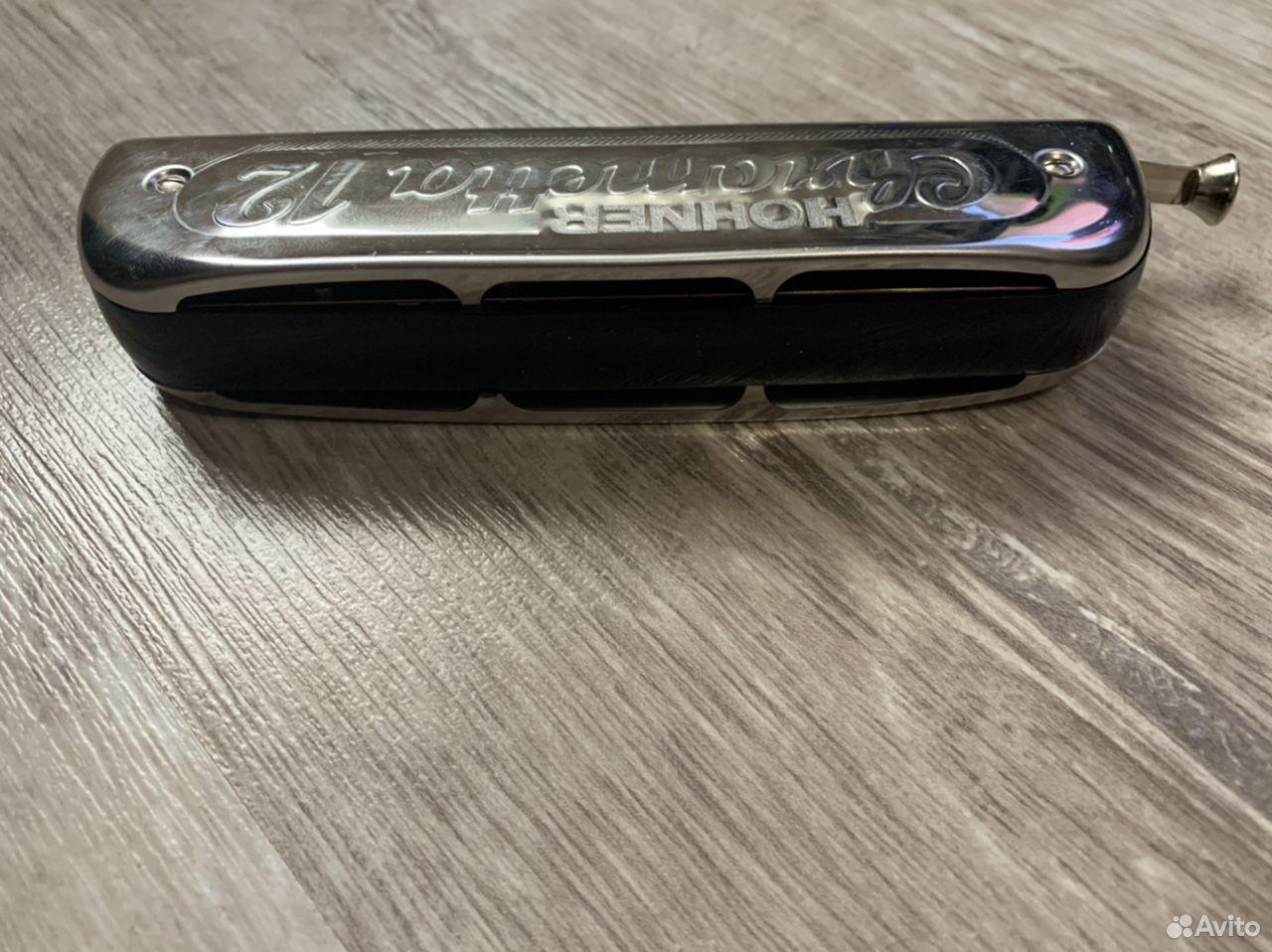 Губная гармошка Hohner Chrometta 12  89208330443 купить 4