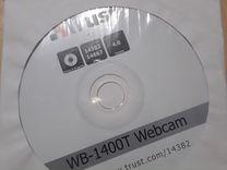 Вебкамера Trast с диском установки