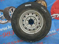 Запасное колесо Bridgestone Dueler 215SR15 Delica