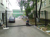 Комплектующие откатных ворот проемом 7 м