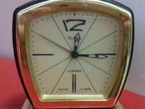 Будильник часы Слава