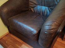Кожанное кресло — Мебель и интерьер в Геленджике