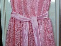Платье в отличном состоянии на 6-6,5лет