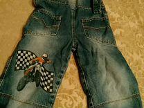 Камбенизон джинсовый тёплый
