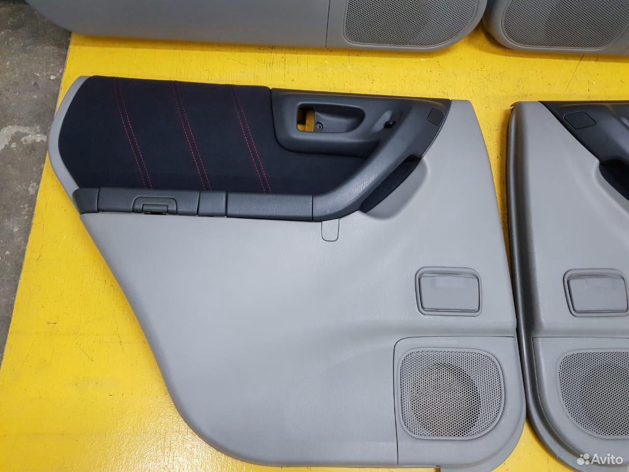Обшивка дверей STI комплект Subaru Forester, SF5  89625003353 купить 5
