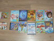 Диски CD и DVD для детей