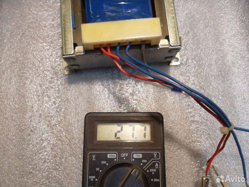 Трансформатор 14,5+14,5В (29В) и 13,5В  89138201193 купить 8