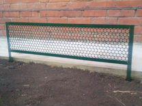 Садовый забор