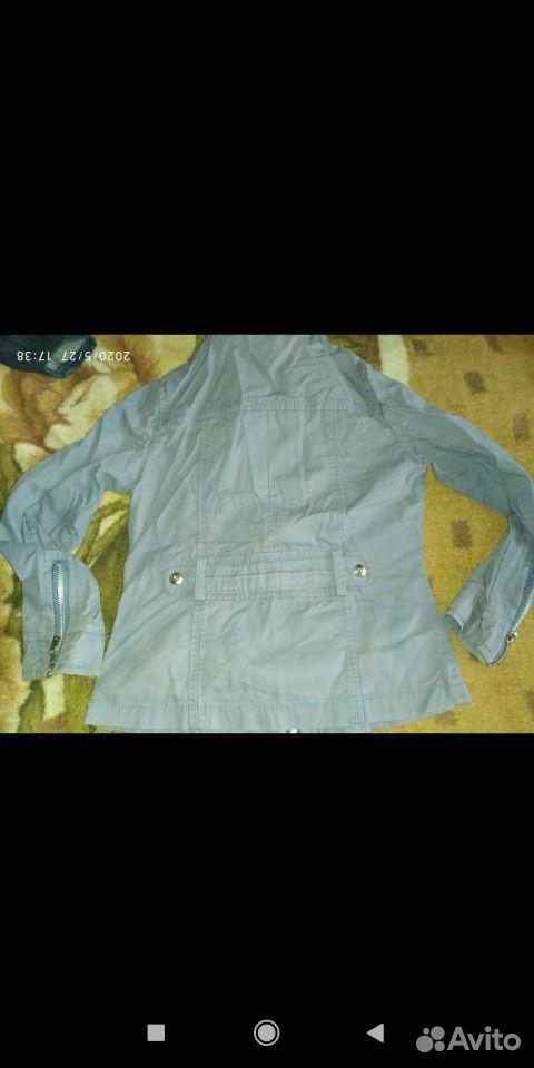 Джинсовые куртки и ветровка для девочки 7-8 лет  89109631283 купить 6
