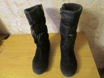 Сапоги еврозима 37 размер — Одежда, обувь, аксессуары в Перми